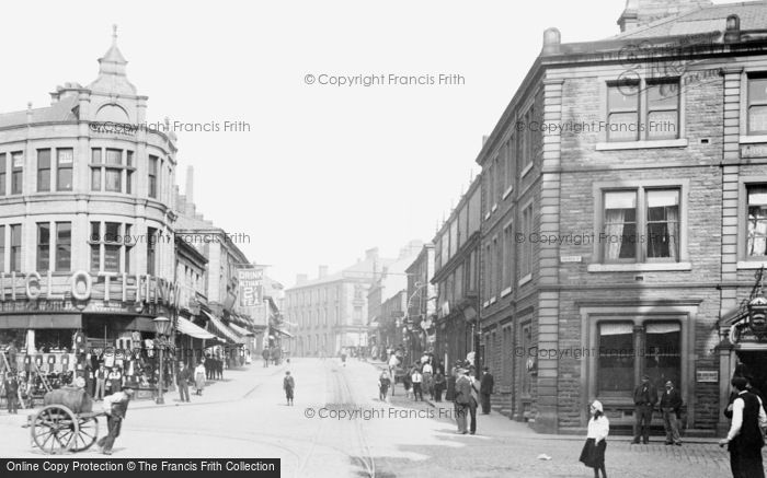 Photo of Accrington, Blackburn Road 1899
