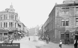 Accrington, Blackburn Road 1899