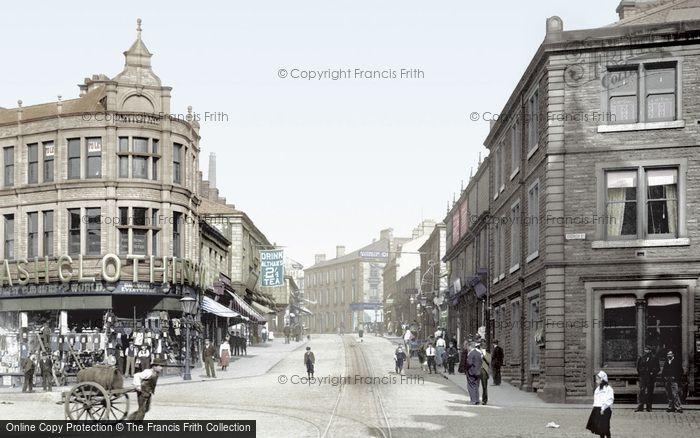 Photo of Accrington, Blackburn Road 1899
