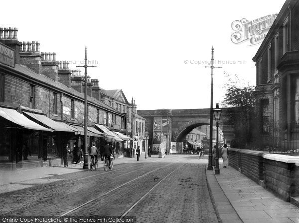 Photo of Accrington, Blackburn Road c.1915