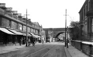 Accrington, Blackburn Road c.1915