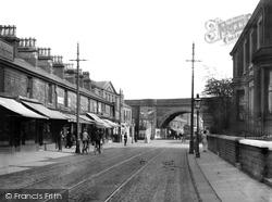 Accrington, Blackburn Road c.1915