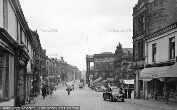 Photo of Accrington, Blackburn Road c.1955