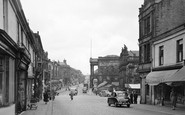 Accrington, Blackburn Road c.1955