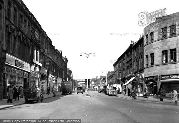 Accrington, Blackburn Road c1955