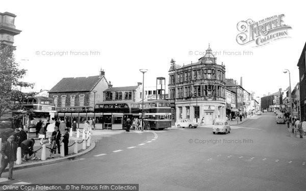 Photo of Accrington, Blackburn Road c.1965