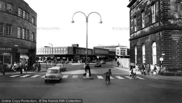 Photo of Accrington, Broadway c.1965