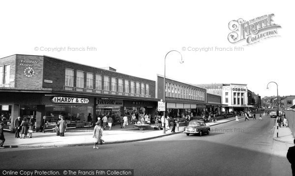 Photo of Accrington, Broadway c.1965
