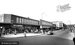 Accrington, Broadway c.1965