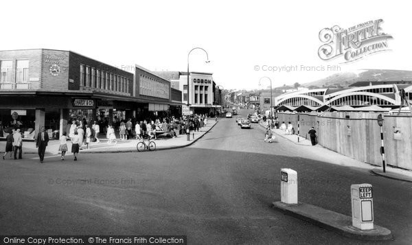 Accrington, Broadway c1965