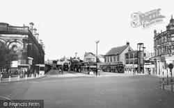 Bus Station c.1965, Accrington