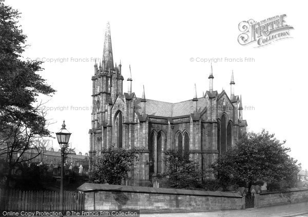Photo of Accrington, Christ Church 1897