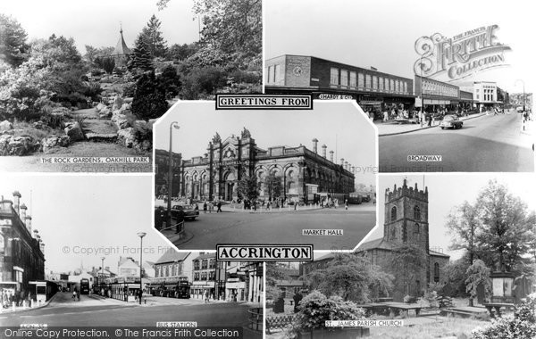 Photo of Accrington, Composite c.1960
