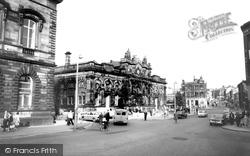 Market Hall c.1965, Accrington