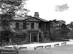 Accrington, Museum, Oak Hill Park c.1935