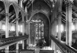 New Jerusalem Church Interior 1899, Accrington