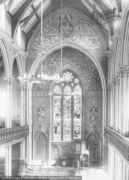 Photo of Accrington, New Jerusalem Church Interior 1899