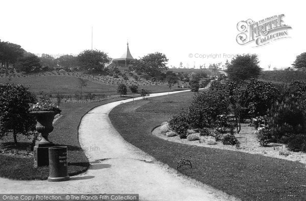 Photo of Accrington, Oak Hill Park 1899