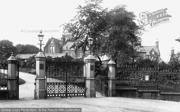 Photo of Accrington, Oak Hill Park Entrance 1897