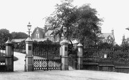 Accrington, Oak Hill Park Entrance 1897