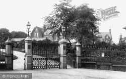 Accrington, Oak Hill Park Entrance 1897