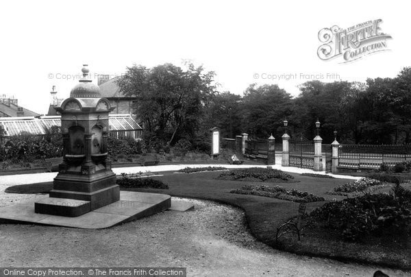 Photo of Accrington, Oakhill Park 1897