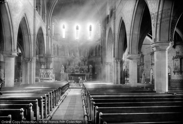 Photo of Accrington, Roman Catholic Church Interior 1899