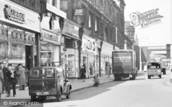 Accrington, Shops On Blackburn Road c.1955