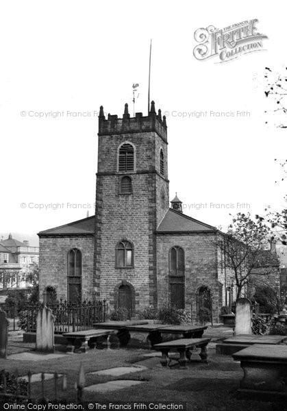 Photo of Accrington, St James' Church  c.1945