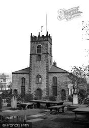 Accrington, St James' Church  c.1945