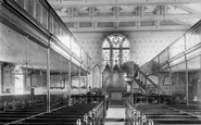 Accrington, St James's Church Interior 1897