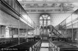 Accrington, St James's Church Interior 1897
