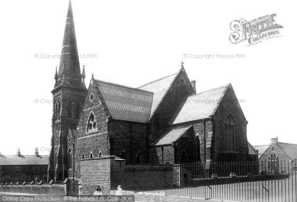 Photo of Accrington, St John's Church 1899