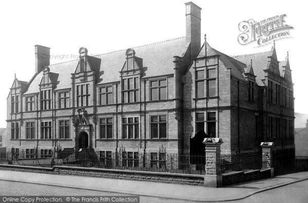 Photo of Accrington, Technical School 1899