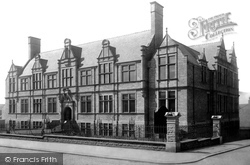 Accrington, Technical School 1899
