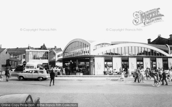 Photo of Accrington, The Market c.1965