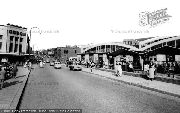 Photo of Accrington, The Market c.1965