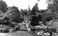 Accrington, The Rock Gardens, Oak Hill Park c.1955