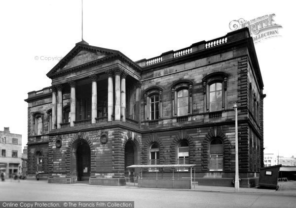 Photo of Accrington, The Town Hall c.1955
