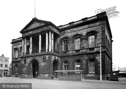 The Town Hall c.1955, Accrington