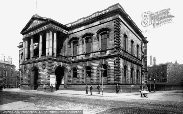Photo of Accrington, Town Hall 1897