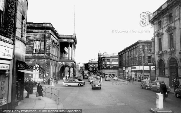Photo of Accrington, Town Hall 1968