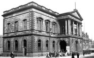 Accrington, Town Hall c.1910