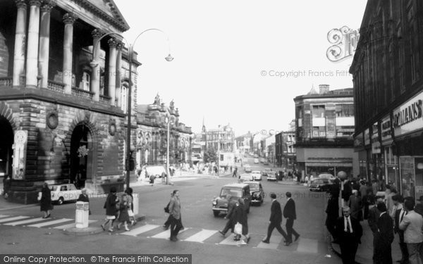 Photo of Accrington, Town Hall c.1965