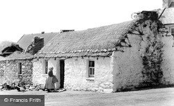 Achill Island, A Cottage In Keel c.1955