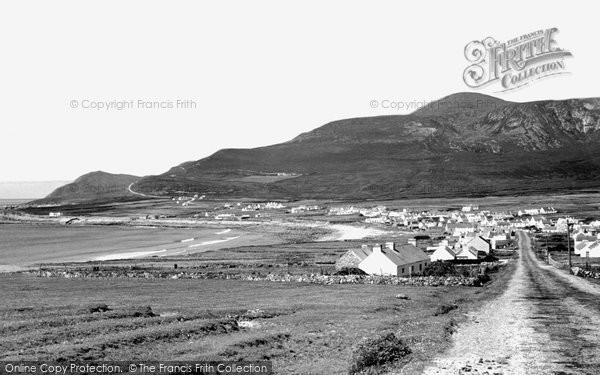 Achill Island, Dooagh Village And Croaghaun c.1955