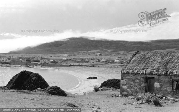 Achill Island, Dooega, View Across Camport Bay c.1955