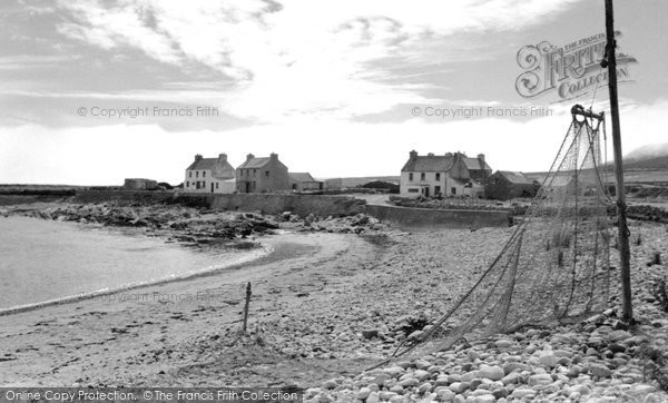 Photo of Achill Island, Dooega Village c.1955