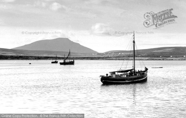 Photo of Achill Island, From The Pier c.1955