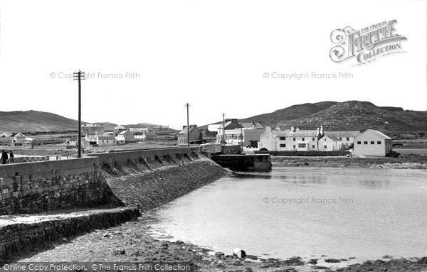 Achill Island, The Bridge And Sweeney's c.1955